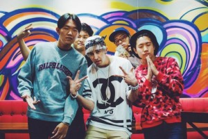 Chad Future with Some YC members in the outside part of Gang Jung