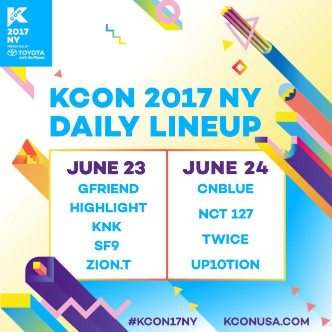 KCON17NY_Daily_Lineup-1024x1024